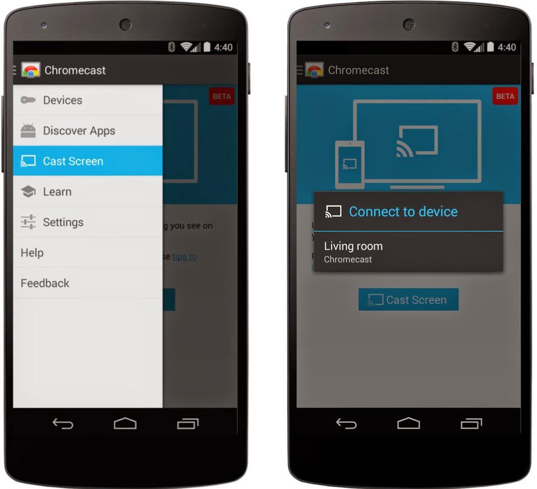 Android chromecast