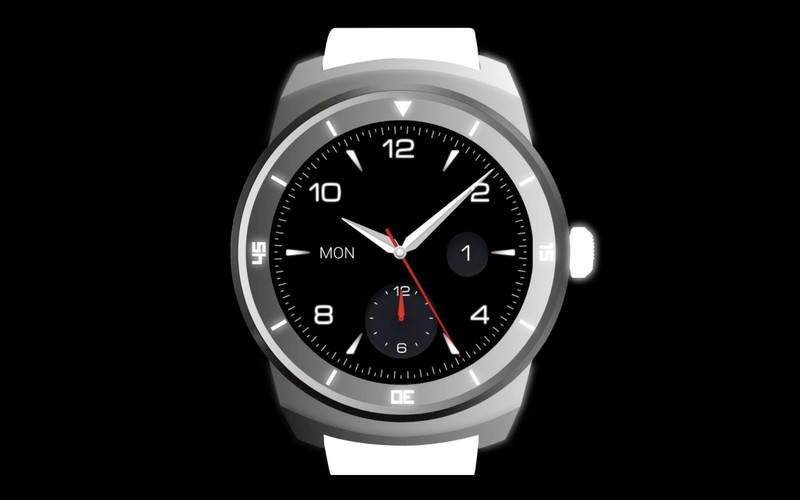 leaks LG LG G Watch R smartwatch teaser Video Wearable Devices Wearables