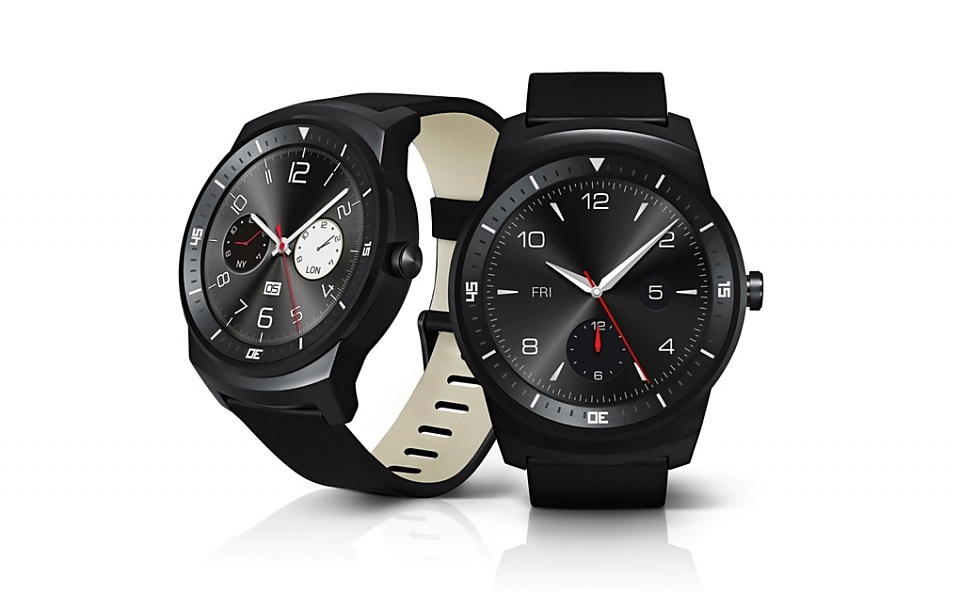 Android LG LG G Watch R Uhr wear