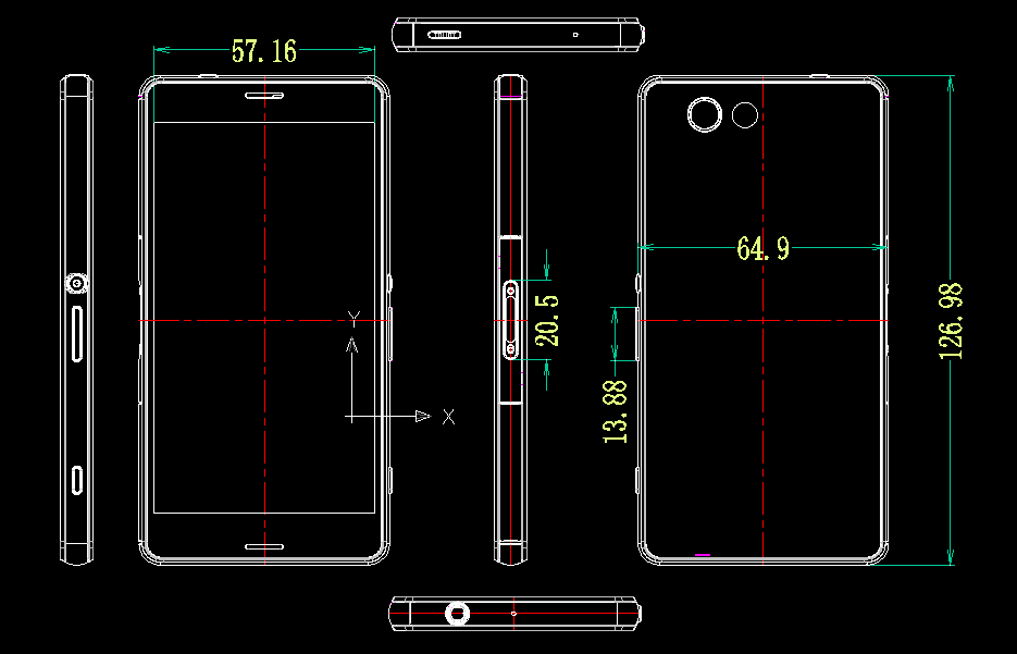 Android fcc Gerücht IFA2014 Leak Sony Sony Xperia Z3 Compact