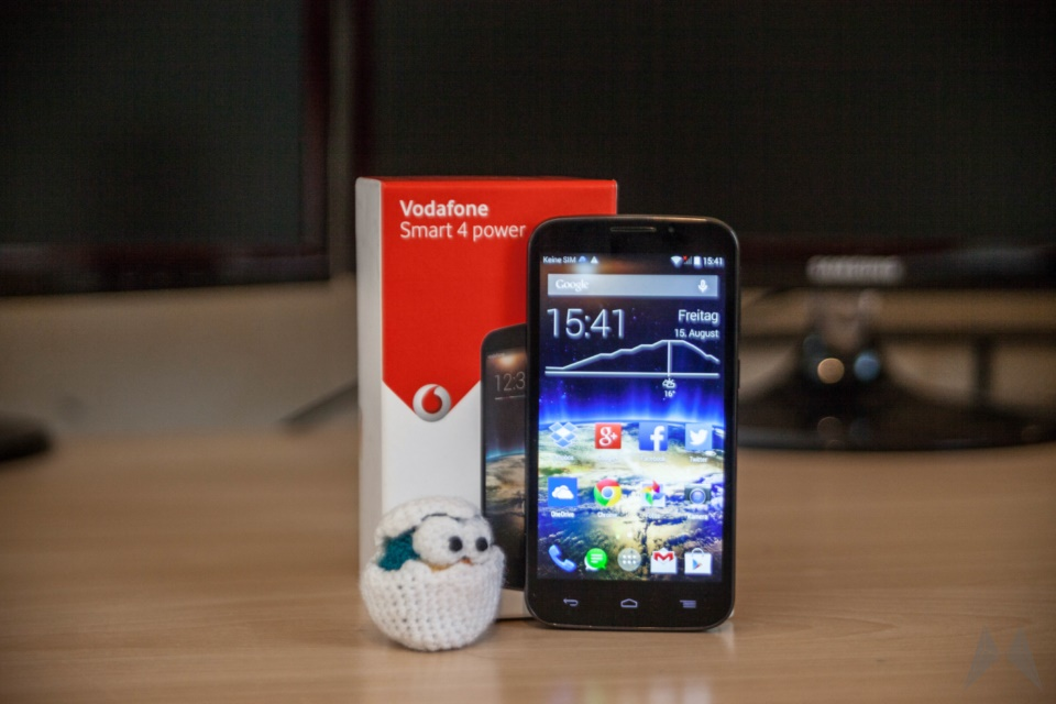 Android review Smart 4 Smartphone test Vodafone