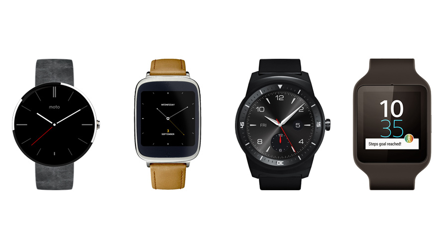Android Android Wear Apple iOS