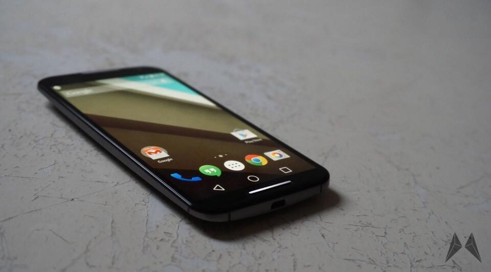Android Google moto Motorola nexus Shamu