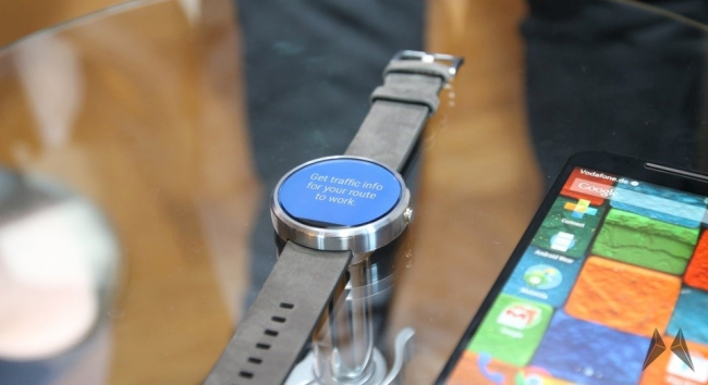 Android Wear ausverkauft moto 360 Motorola smartwatch Wearable