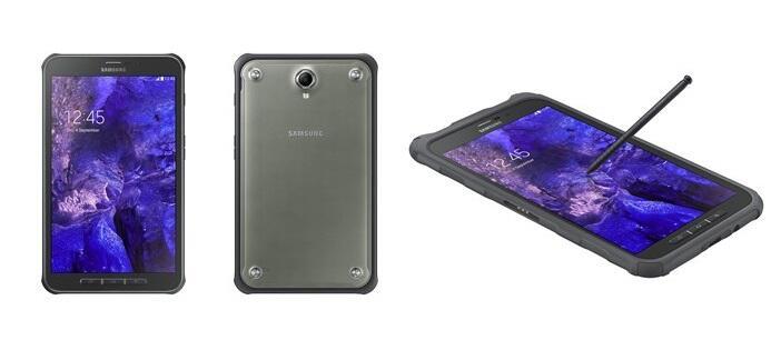 samsung galaxy tab active outdoor tablet mit wechselbarem akku vorgestellt. Black Bedroom Furniture Sets. Home Design Ideas