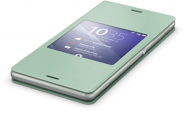 Sony style cover scr24 bringt smart window funktionen auf das xperia z3 - Er finestra android ...