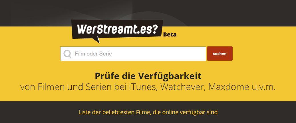 Android angebot app inhalt stream werstreamt.es