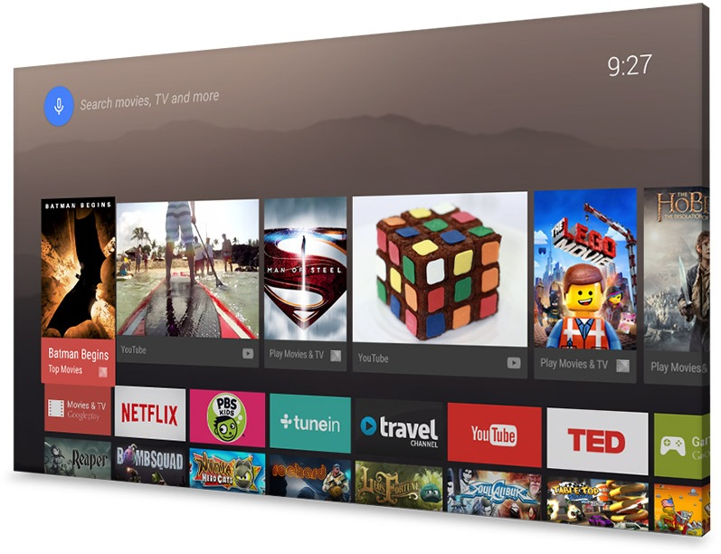 Android Asus Google Leak nexus TV