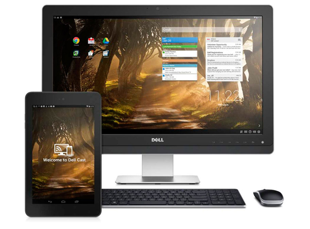 Android cast Dell HDMI Dongle streaming
