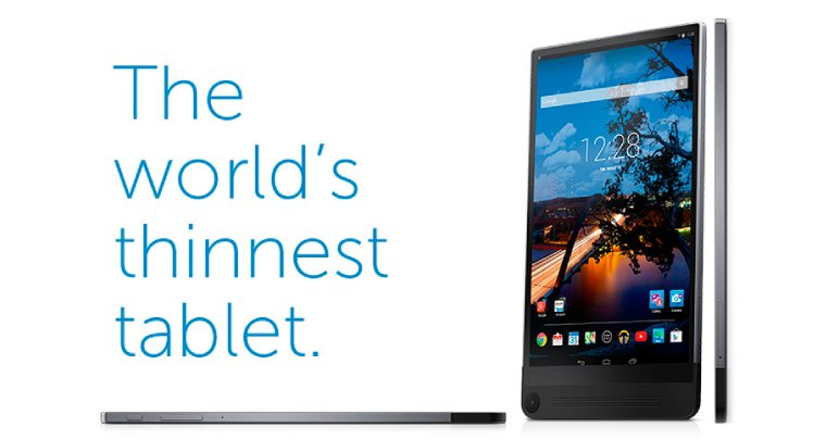 Android Dell tablet venue 8