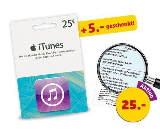 Apple itunes iTunes Karte Penny