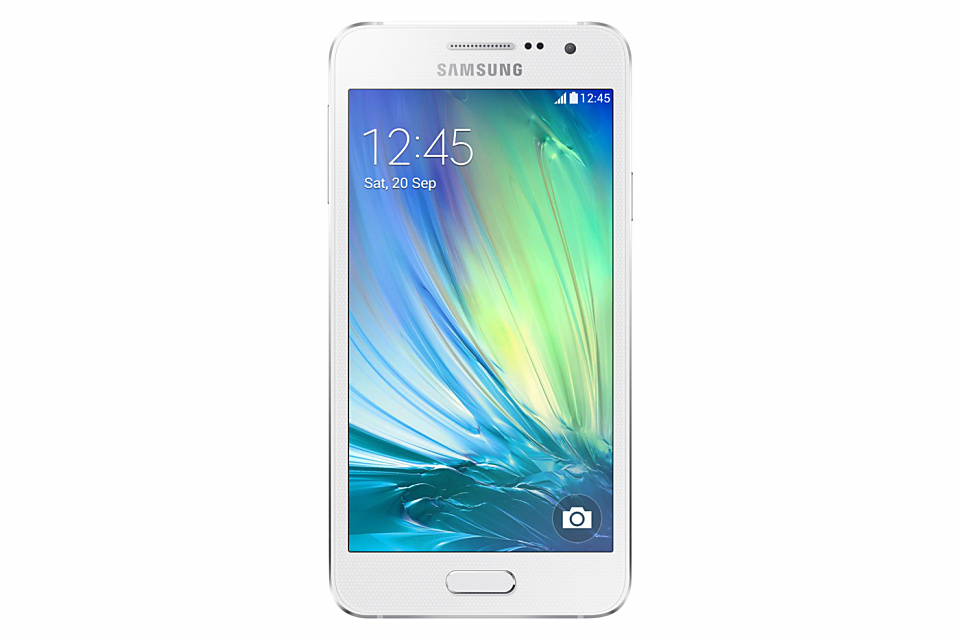 Android hands on Samsung Galaxy A3 SM-A300