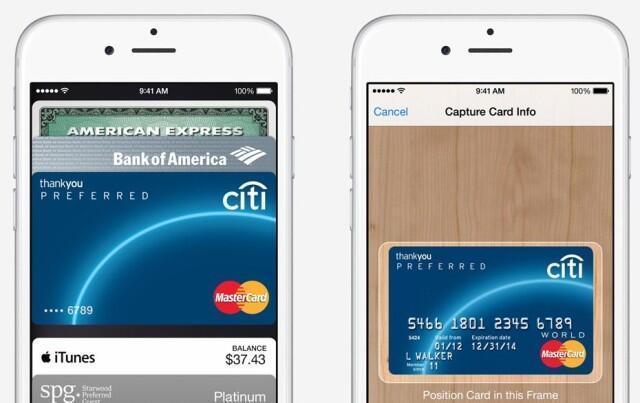 Apple iOS iphone pay