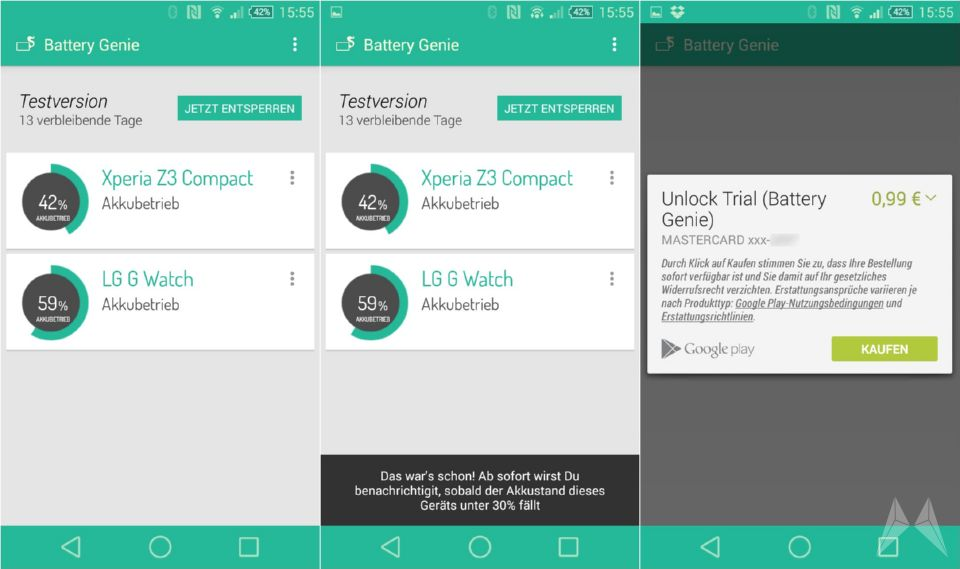 akku Android app battery chrome Tool