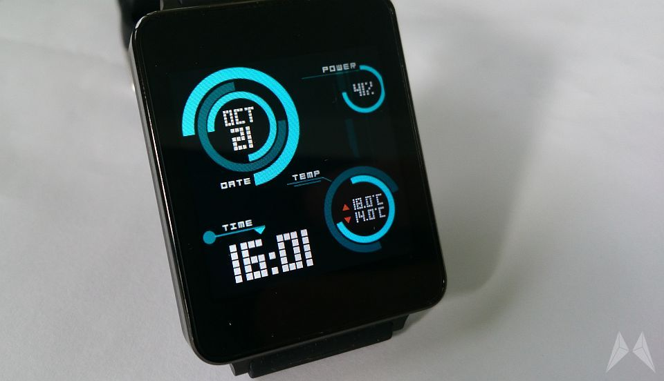 Android Firmware G Watch Update wear