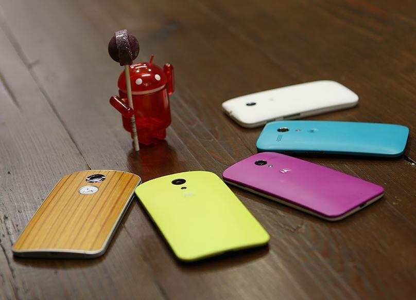 Android lollipop Motorola Update