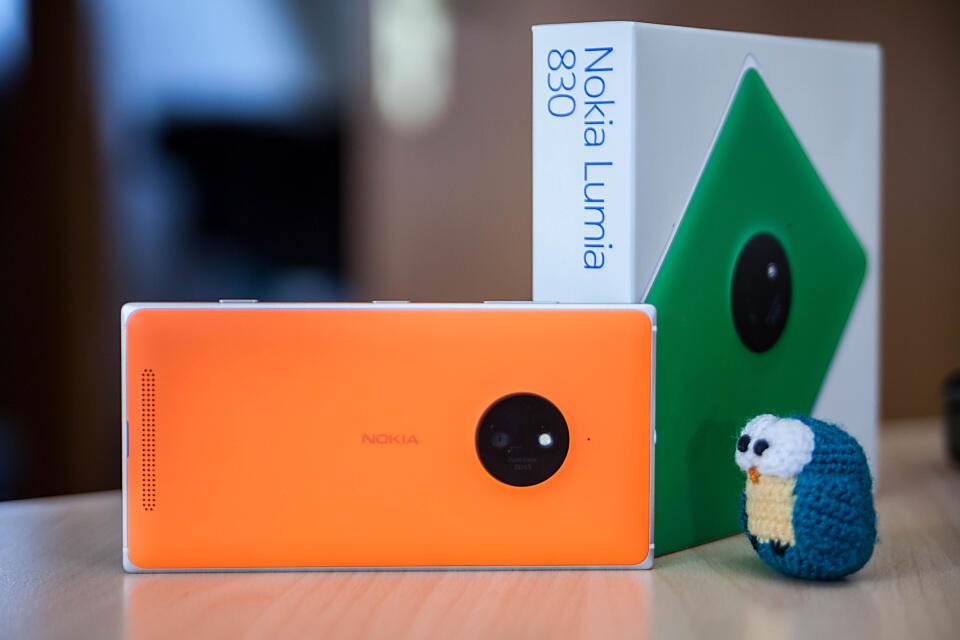 830 Lumia Nokia review test Windows Phone wp