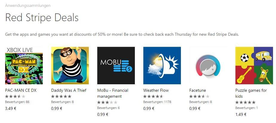 app Game red stripe Windows Phone wp