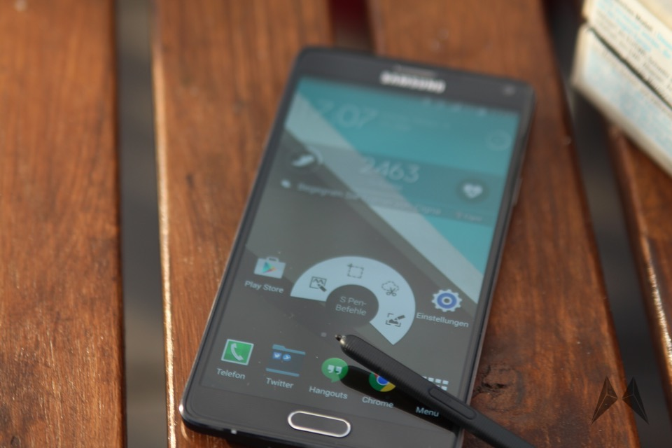Android deutschland lollipop note 4 ota Samsung Update
