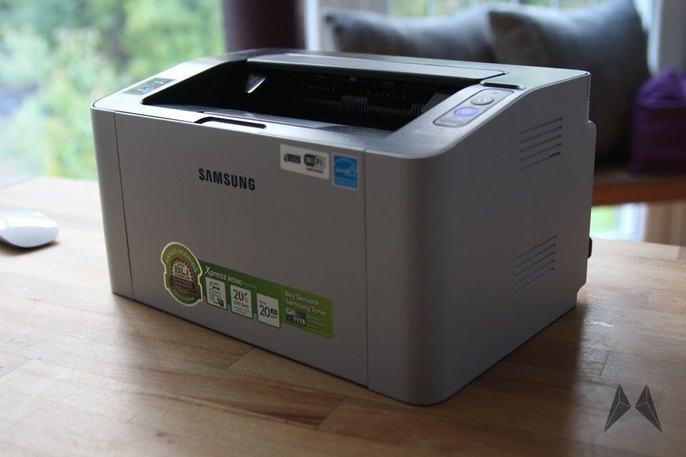 samsung sl m2022w laserdrucker ausprobiert. Black Bedroom Furniture Sets. Home Design Ideas