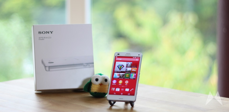1 Android review Sony test Xperia z3 z3 compact