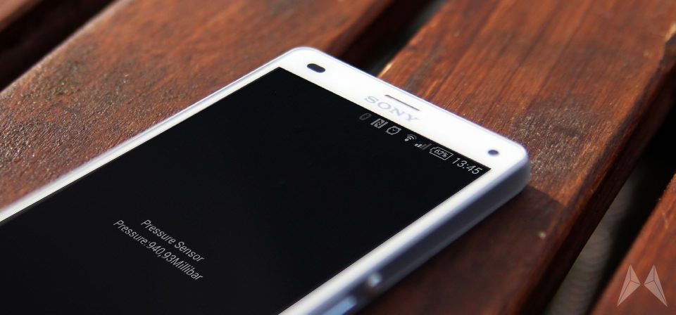 Android sensor Sony tipp Tool Wasser