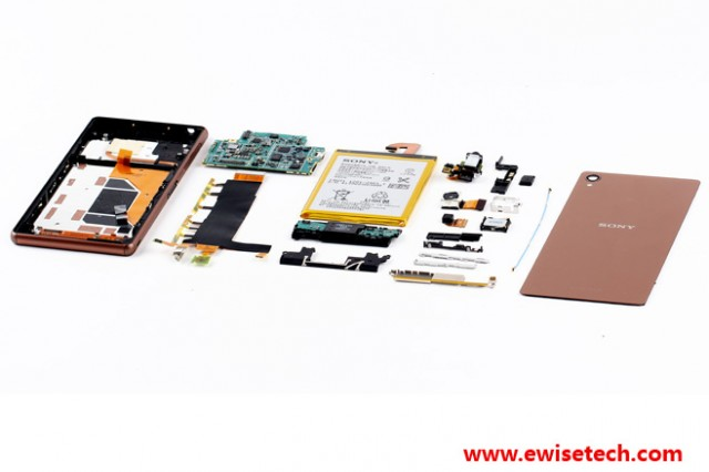 Android Sony teardown Xperia z3