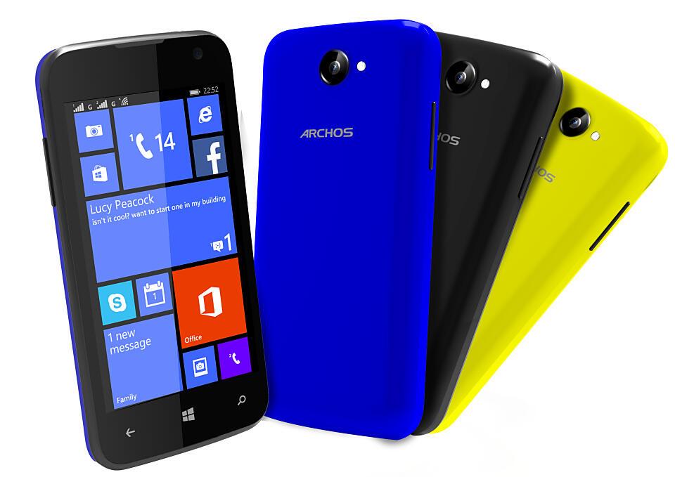 Archos Windows Phone wp