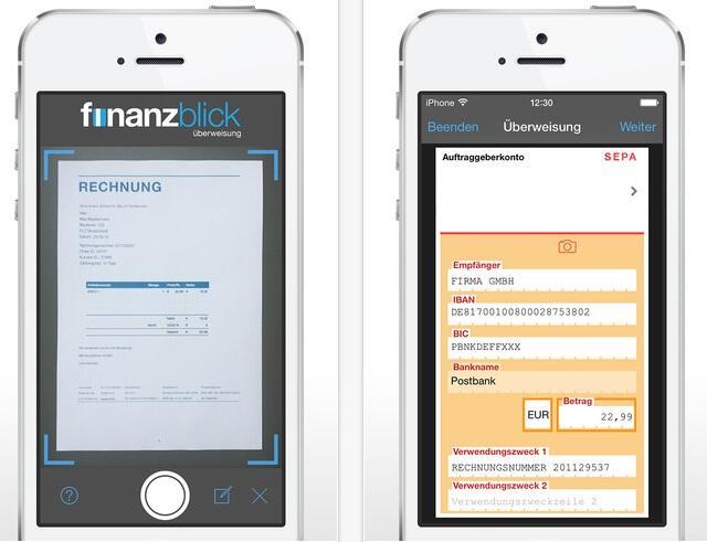 Apple banking finanzblick Finanzen iOS iphone Rechnung