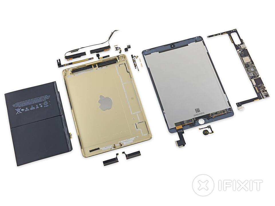 Apple iOS iPad tablet teardown zerlegt