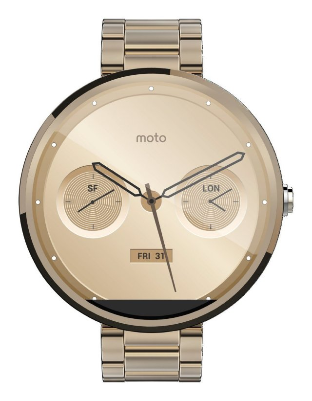 Android Android Wear Gold moto 360 Motorola