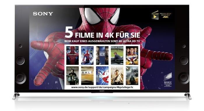 4k fernseher Sony UHD