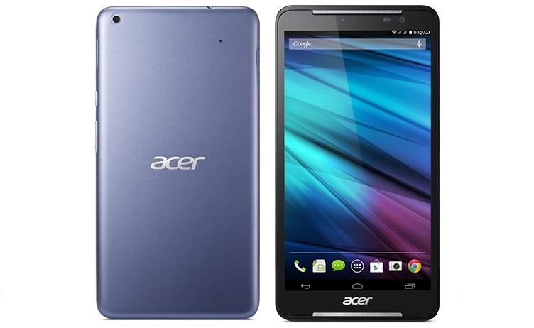 Acer Android tablet Telefonie