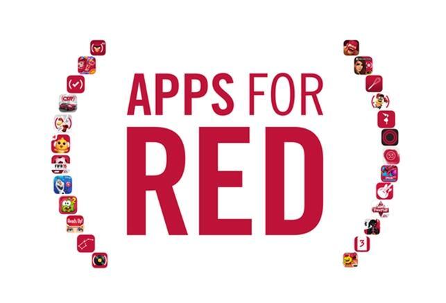 Apple iOS iPad iphone RED