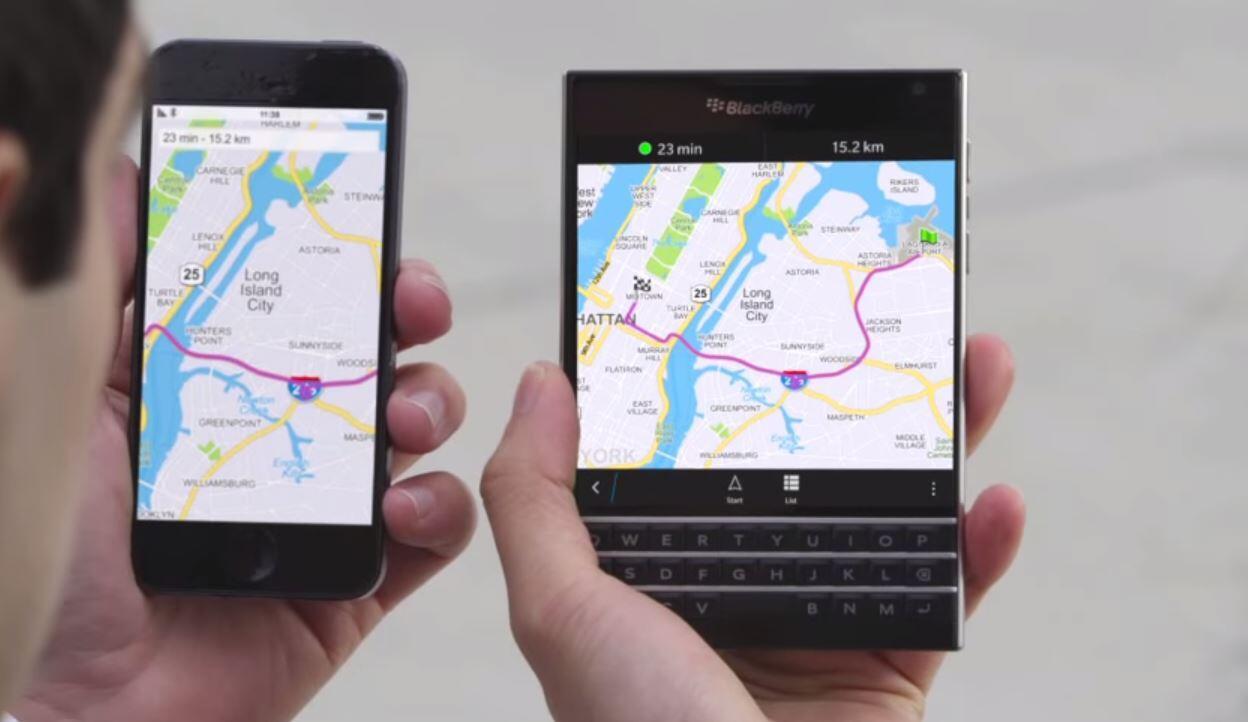 blackberry BlackBerry Passport werbung