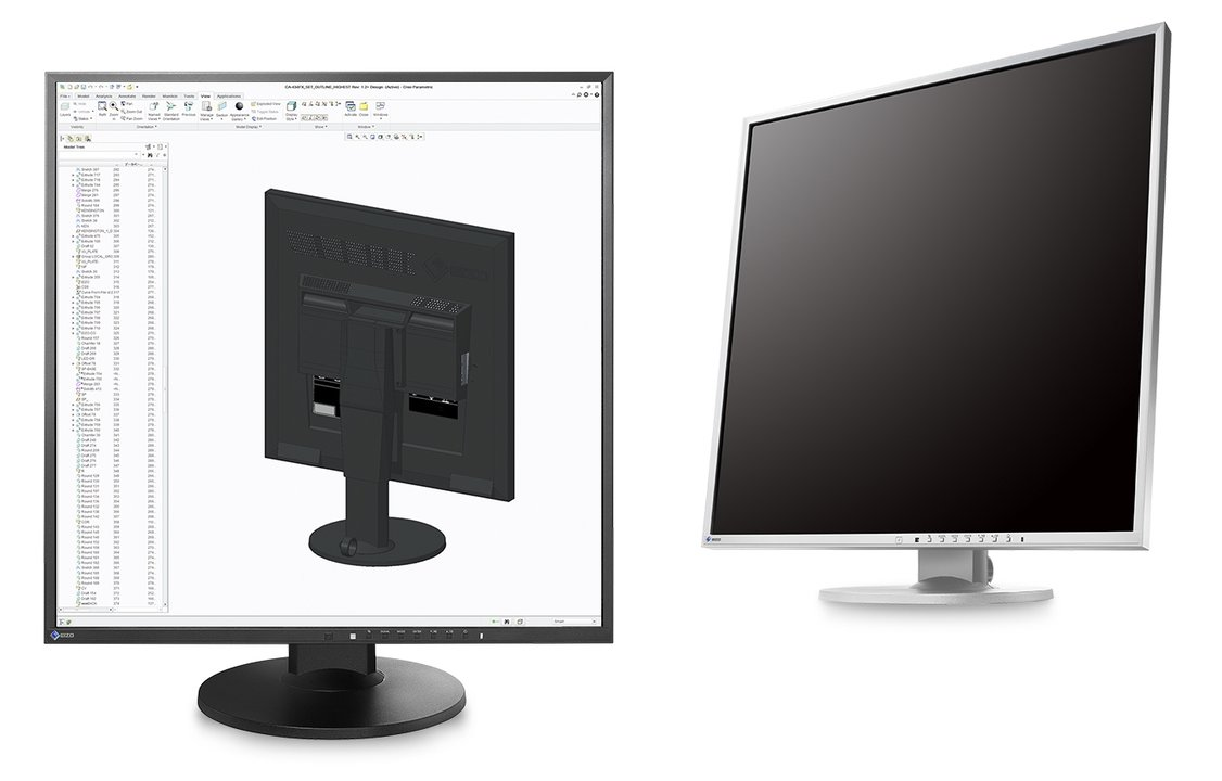 desktop Eizo Monitor pc