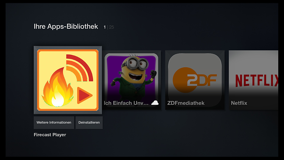 amazon Android app cast Fire TV streaming Tool