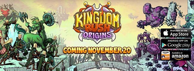 Android frontiers iOS kingdom rush Origins Spiel tower defense