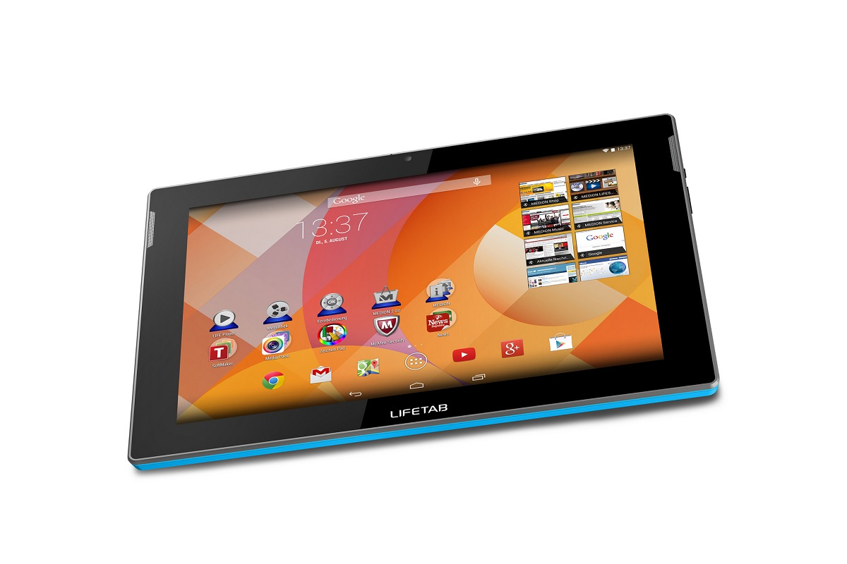 Android lifetab medion tablet