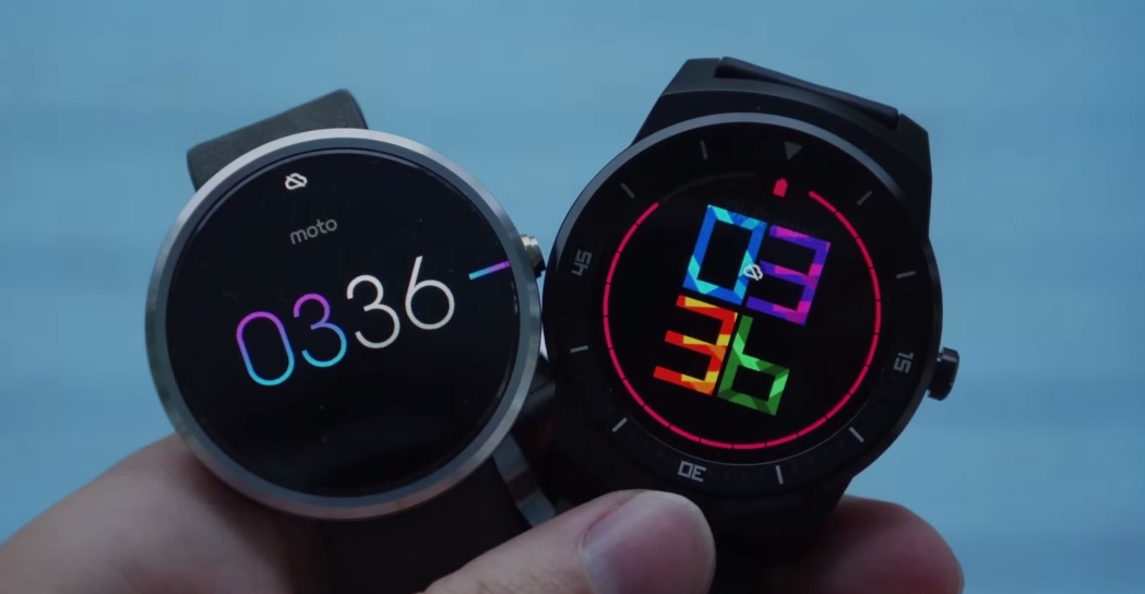 Android G Watch R LG moto 360 Motorola wear