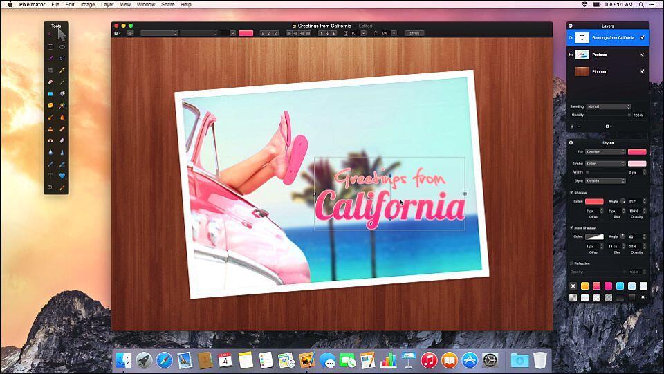 angebot mac OSX photoshop pixelmator