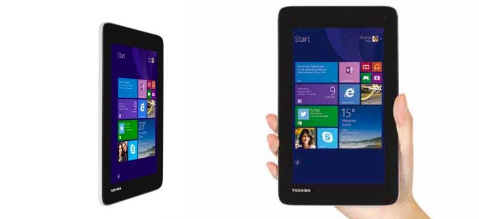 7 zoll tablet Toshiba Windows Windows 8.1