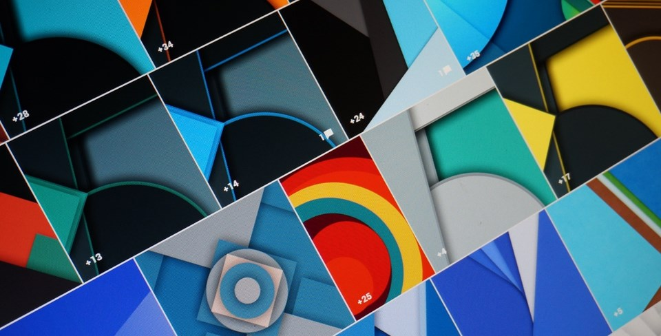 Android design download flat material Wallpaper