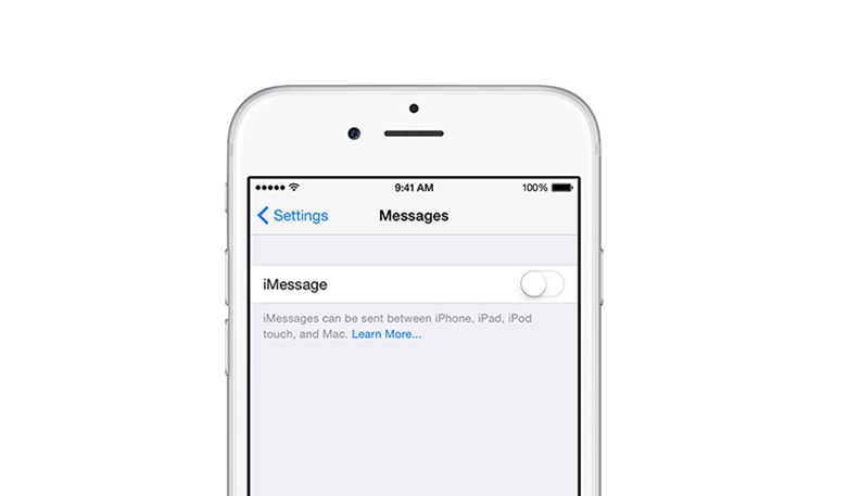 Apple entfernen imessage iphone