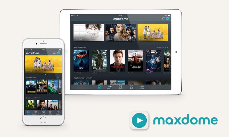 app iOS iPad iphone maxdome streaming Video vod