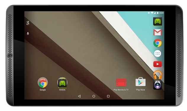 Android android 5.1 Android Lollipop nvidia Shield Tablet Update