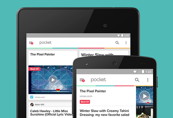 Android Android 5.0 Android Lollipop lollipop Material Design pocket Read it later