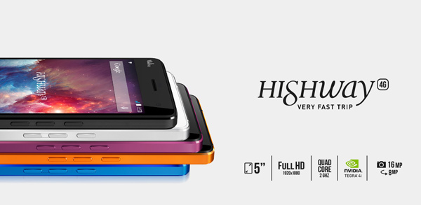 4G Android LTE wiko highway