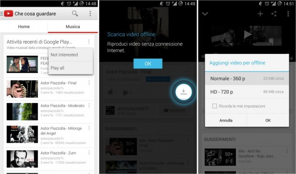 Android download music key Musik YouTube