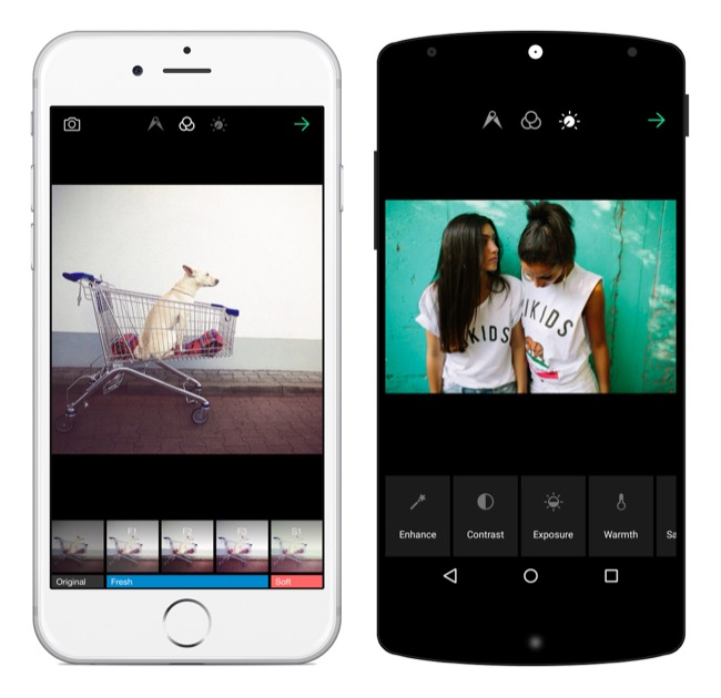 Android eyeem foto iOS Update